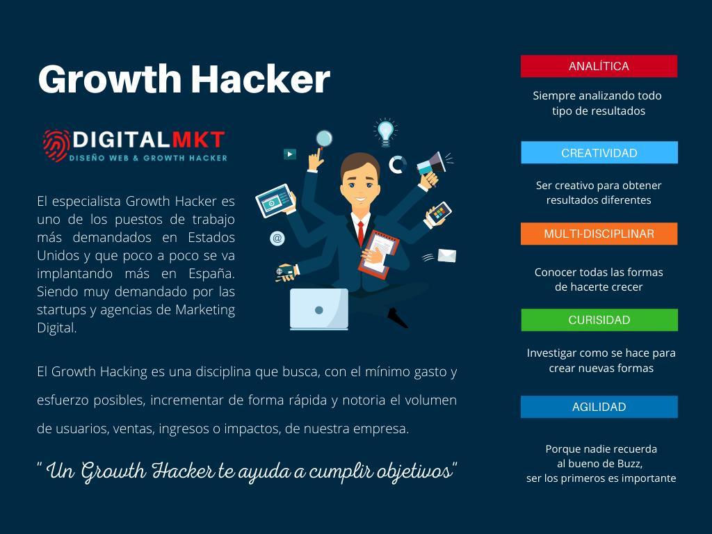 que es un growth hacker y como puede ayudar una growth hacker a la empresa
